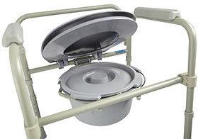 Санитарное приспособление Valentine I. LTD Кресло-туалет складной 10580 - фото 4