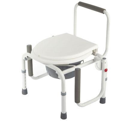 Санитарное приспособление Valentine I. LTD Кресло-туалет с откидными подлокотниками WC Delux - фото 4