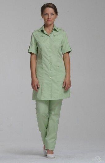 Доктор Стиль Блуза медицинская женская Сафари (лл2229) - фото 1