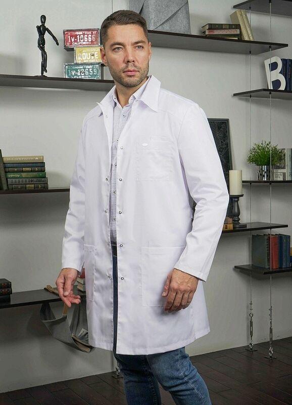 Доктор Стиль Медицинский халат «Сиэт» ЛУ 1112.01 - фото 2