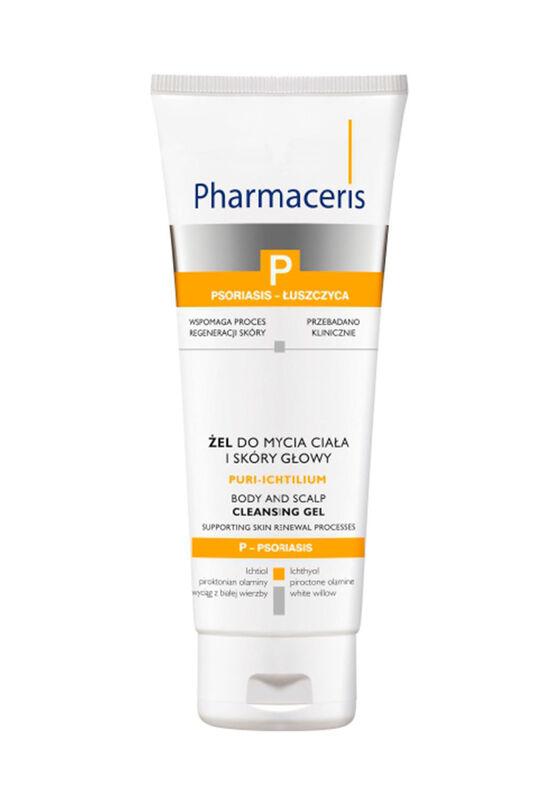 Pharmaceris Гель для очищения кожи тела и головы Puri-Ichtilium 250 мл - фото 1