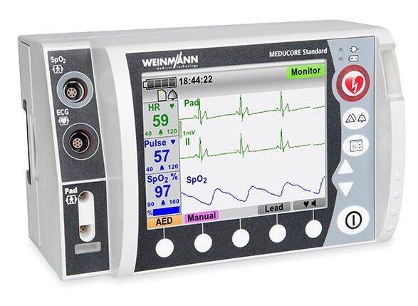 Медицинское оборудование Weinmann Компактный монитор-дефибриллятор Meducore Standard - фото 1