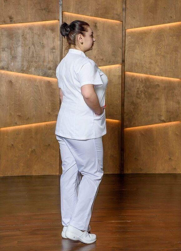 Доктор Стиль Медицинская блуза «Сандра» ЛУ 1224.К - фото 3