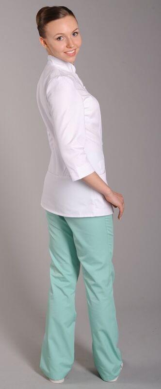 Доктор Стиль Блуза медицинская женская Жасмин (лу1225) - фото 3