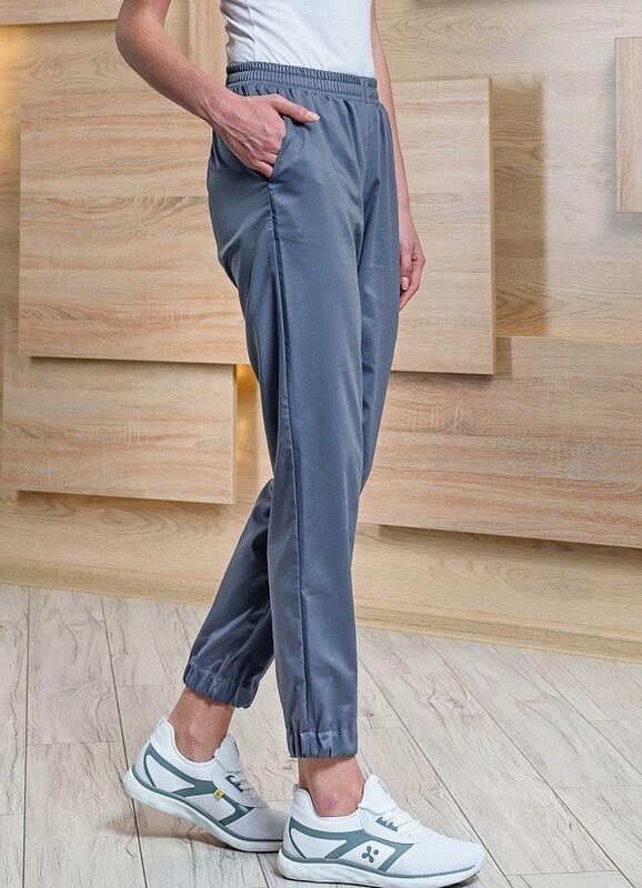 Доктор Стиль Медицинские брюки женские «Релакс» графит Брю 3403.20 - фото 3