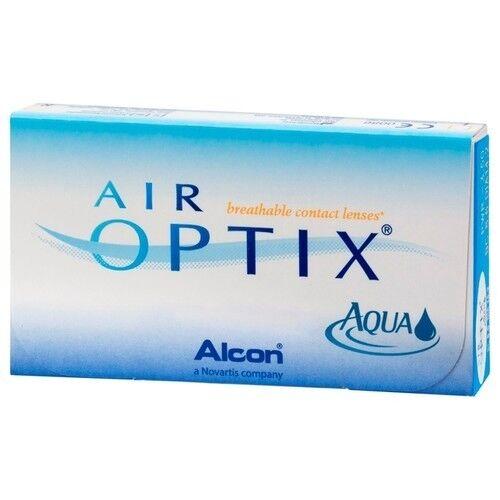 Контактные линзы Air Optix (Alcon) Aqua (6 линз) - фото 3