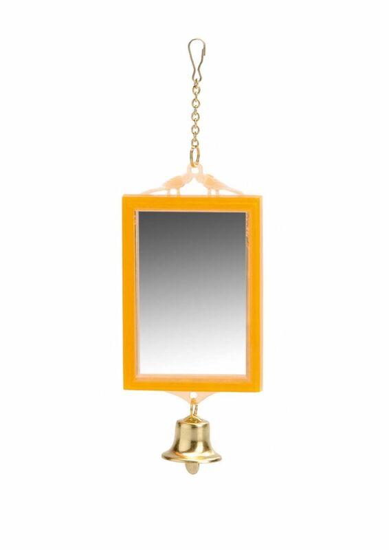 ВАКА Зеркало для птиц прямоугольное - фото 1