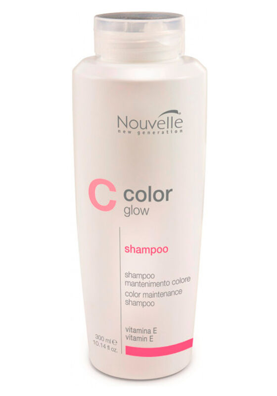 Nouvelle Шампунь для сохранения цвета волос COLOR GlOW SHAMPOO COLOUR MAINTENANCE 300ml - фото 1