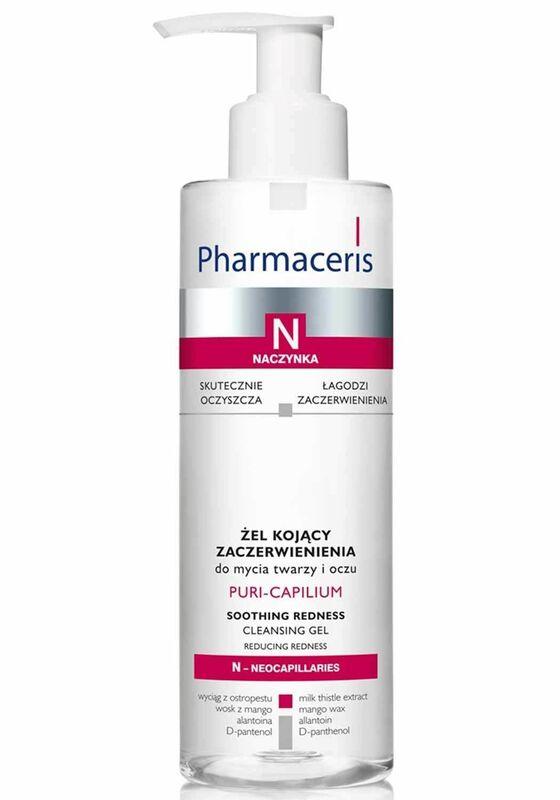 Pharmaceris Гель Puri-Capilium очищающий успокаивающий покраснения, 190 мл - фото 1