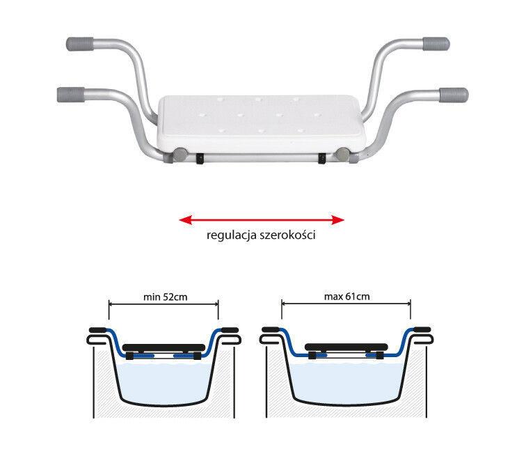 Санитарное приспособление ARmedical Сиденье для ванной регулируемое, АR-207 - фото 2