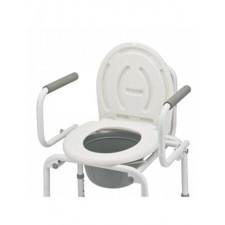 Прокат медицинских товаров Армед Кресло-туалет  FS813 напрокат - фото 3