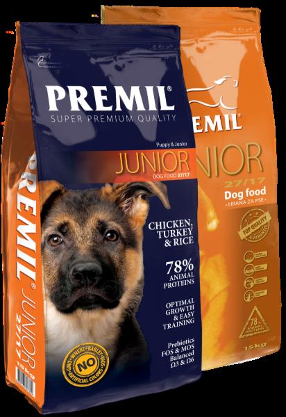 Premil Корм для собак Junior SuperPremium 1 кг - фото 1