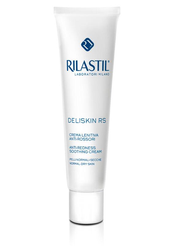 Rilastil Крем-флюид против покраснений успокаивающий для нормальной и комбинированной кожи склонной к аллергии DELISKIN RS, 40мл - фото 1