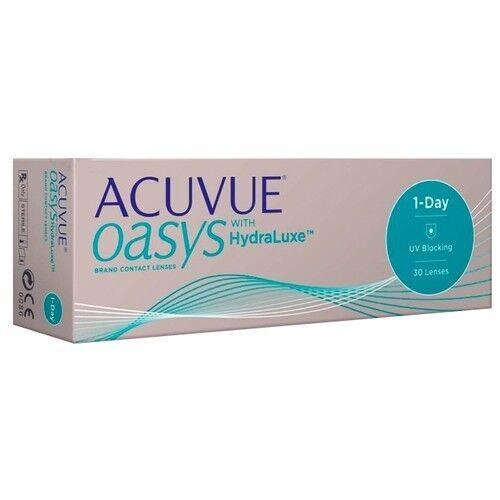 Контактные линзы Acuvue OASYS 1-Day with HydraLuxe - фото 2