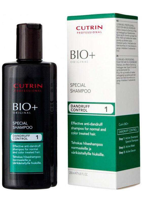 Cutrin Professional Специальный шампунь против перхоти BIO+ SPECIAL SHAMPOO 200 мл - фото 1