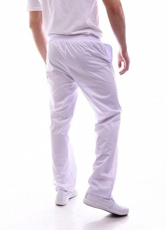 Доктор Стиль Медицинские брюки мужские «Комфорт» белые Брю 3408.01 - фото 3