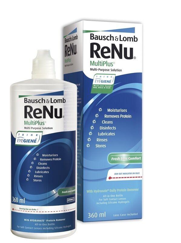 Средство по уходу и аксессуар для линз Bausch+Lomb ReNu MultiPlus 360 - фото 1