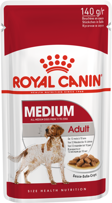 Royal Canin Medium Adult 140гр.х10шт. - фото 1