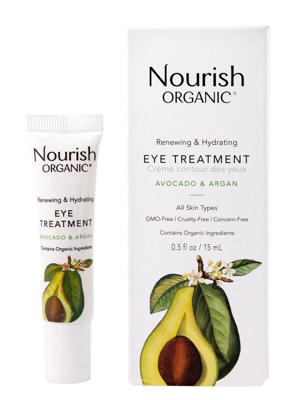 Nourish Крем для кожи вокруг глаз восстанавливающий «Авокадо и арган» - фото 1