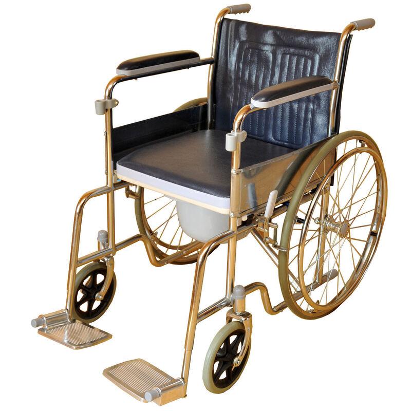 Прокат медицинских товаров Мега-Оптим Коляска инвалидная LK 6005-46W - фото 1