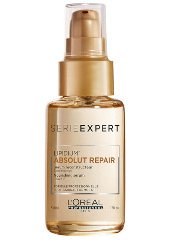 Loreal Сыворотка для кончиков для очень поврежденных волос Absolut Repair Lipidium 50 мл - фото 1