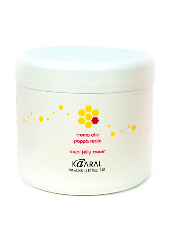 Kaaral Крем-маска для волос с пчелиным маточным молочком Royal Jelly cream 500 мл - фото 1
