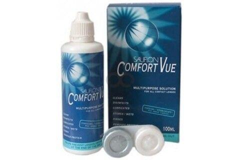 Средство по уходу и аксессуар для линз Sauflon Comfort Vue 100 мл - фото 1