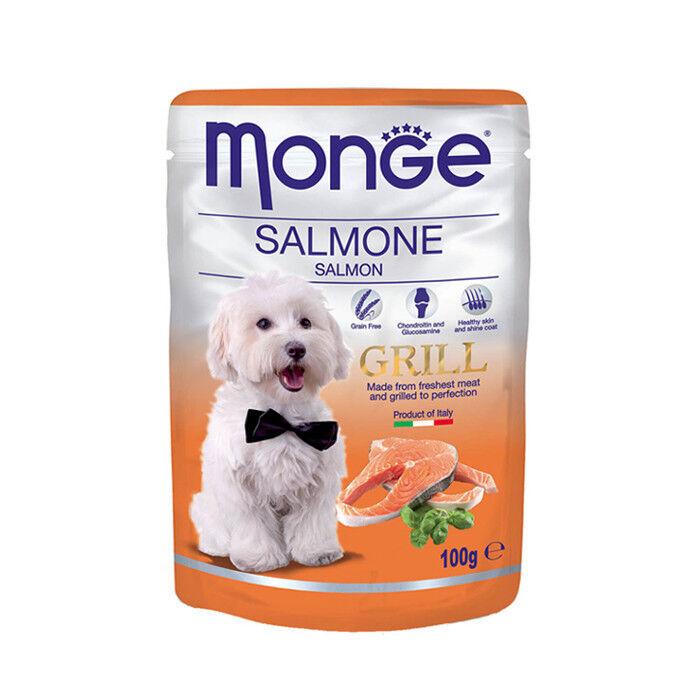 Monge Grill Pouch Salmon 100гр. х 12 шт. - фото 1