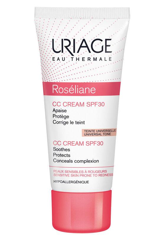 Uriage Крем против покраснений ROSELIANE CC CREAM SPF30 40 мл - фото 1