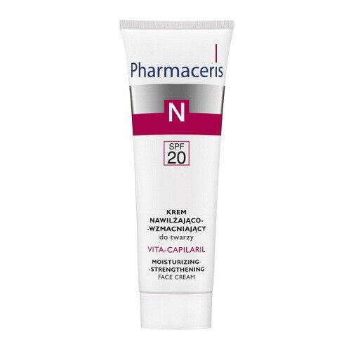 Pharmaceris Крем увлажняющий с укрепляющим эффектом Vita-Capilaril - фото 1