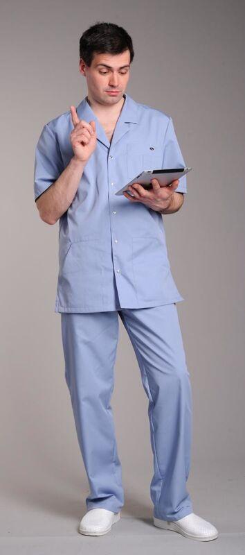 Доктор Стиль Костюм мужской Скай - фото 1