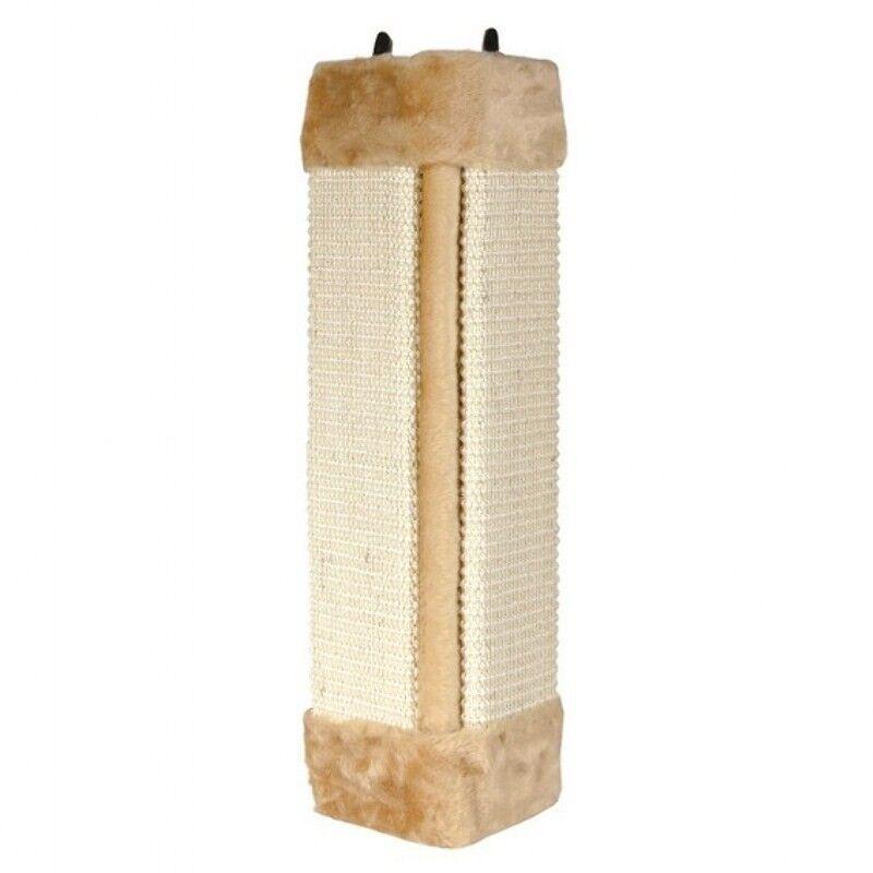 Когтеточка Trixie Когтеточка, с креплением на стену, коричневая, угловая - фото 1