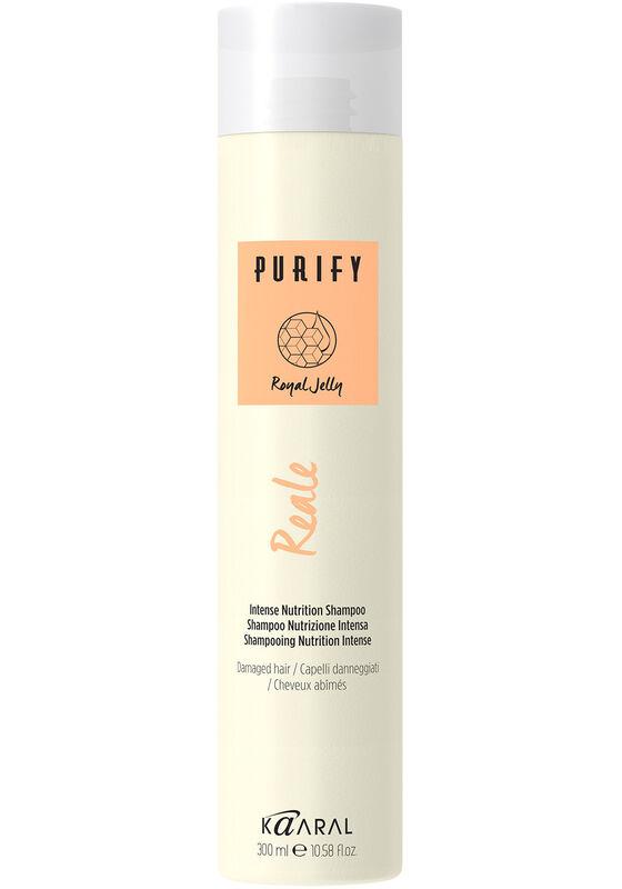 Kaaral Шампунь Purify Reale Intense Nutrition восстанавливающий для поврежденных волос 300 мл - фото 1