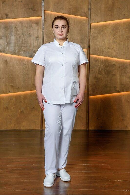 Доктор Стиль Медицинская блуза «Сандра» ЛУ 1224.К - фото 2