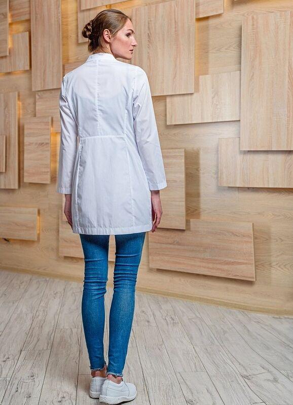 Доктор Стиль Медицинский халат «Лето» ЛЛ 2130 - фото 3