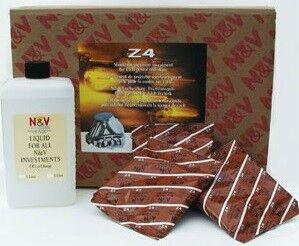 Стоматологическое оборудование Neirynck & Vogt N.V Масса универсальная паковочная для быстрого литья коронок и мостовидных протезов Z4 (упаковка: 24*500г+3л) - фото 1