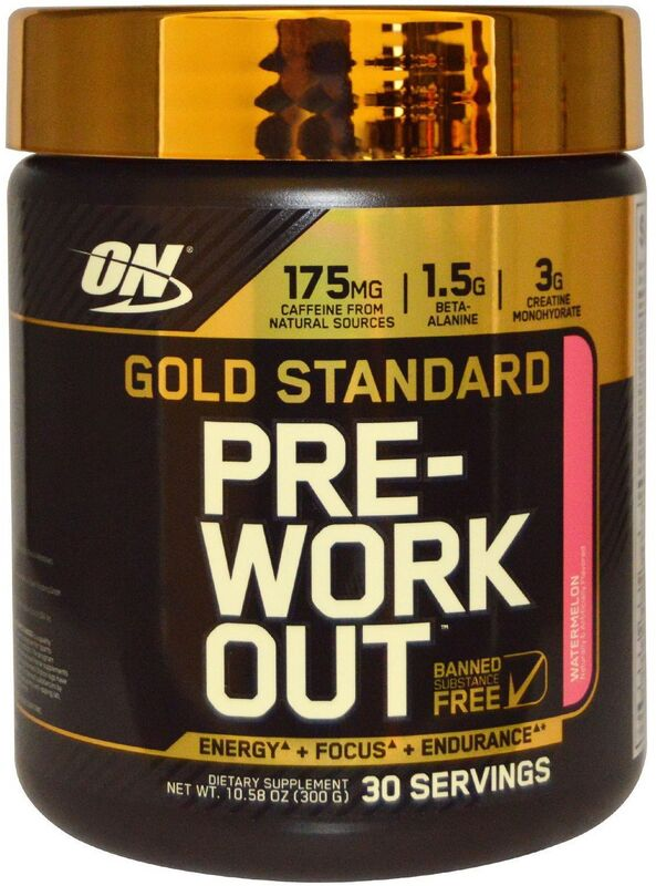 ON Gold Standard Pre-Workout - фото 1