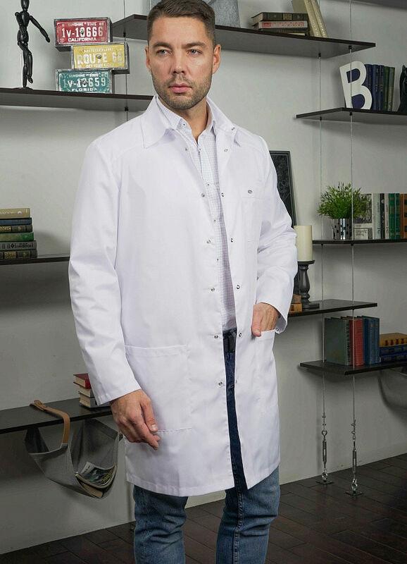 Доктор Стиль Медицинский халат «Сиэт» ЛУ 1112.01 - фото 1