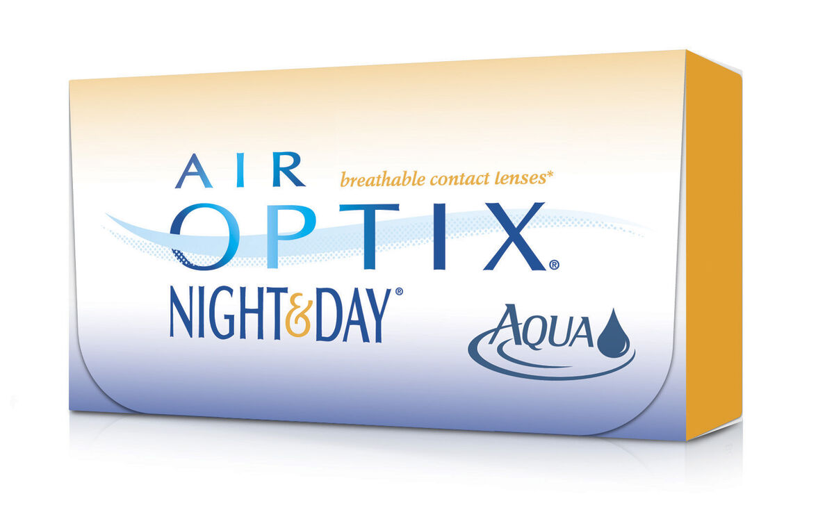 Контактные линзы CIBA Vision Air Optix Night&Day Aqua - фото 2