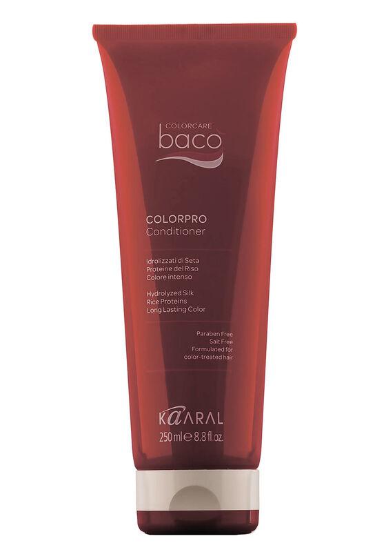 Kaaral Кондиционер для окрашенных волос Васо Colorpro с гидролизатами шелка и протеинами риса 250 мл - фото 1