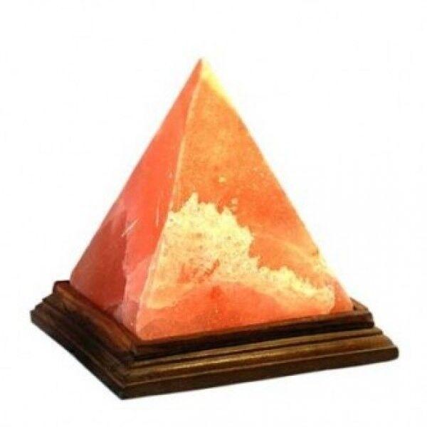 "Zenet Солевая лампа ""Пирамида"" - фото 1"
