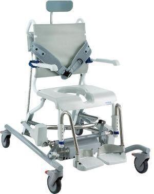 Санитарное приспособление Invacare Кресло-коляска для душа Ocean E-Vip (под заказ) - фото 1