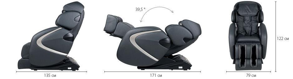 Массажер Casada Массажное кресло с большим набором функций Hilton 2 (Хилтон 2) - фото 10