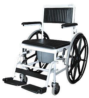 Санитарное приспособление Karma Medical Кресло-коляска с санитарным устроиством 5019W24 - фото 1