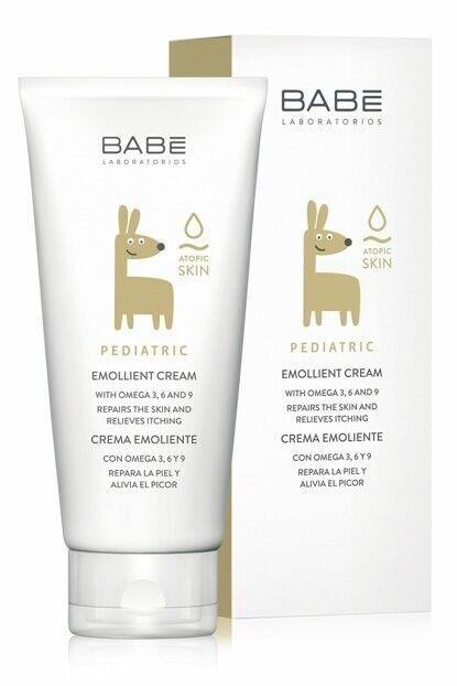 BABE Детский крем-эмолиент для сухой кожи 200мл - фото 1