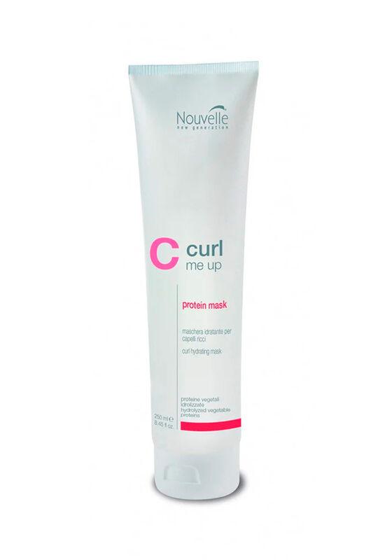 Nouvelle Маска для сухих и чувствительных волос CURL ME UP PROTEIN MASK 250 мл - фото 1