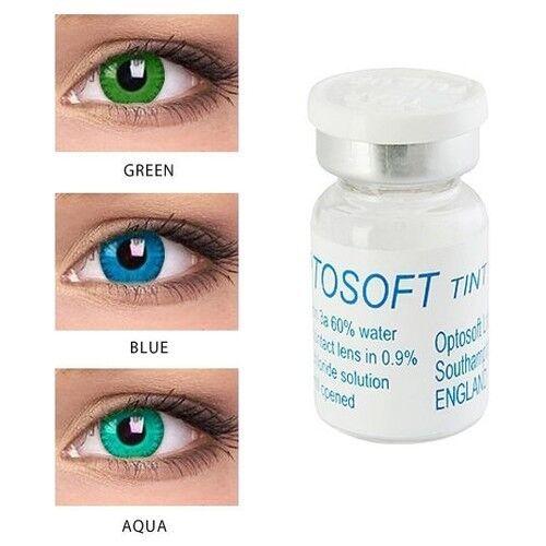 Контактные линзы Sauflon Optosoft Tint (1 линза) - фото 4