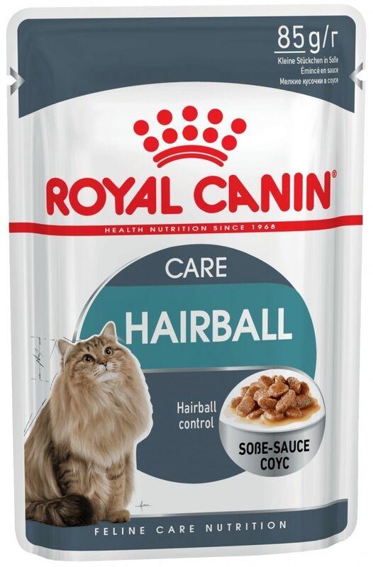Royal Canin Hairball Care (в соусе) 85 гр. х 12 шт. - фото 1
