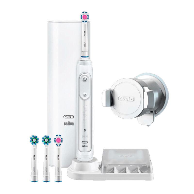 Oral-B Электрическая зубная щетка Genius 9200W D701.545.6XC (белая) - фото 1