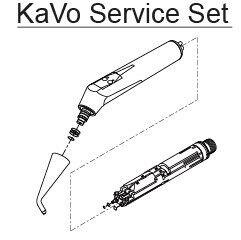 Стоматологическое оборудование KaVo Dental Германия Носик для 3-х функционального шприца Артикул 0.773.0011 - фото 1